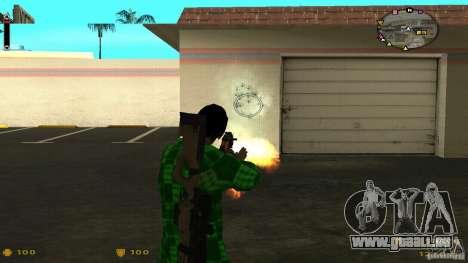 Cs 1.6 HUD v2 pour GTA San Andreas troisième écran