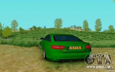 Audi RS6 OTIS für GTA San Andreas zurück linke Ansicht