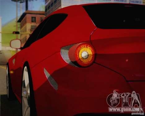 Ferrari FF Sport 2011 pour GTA San Andreas vue de côté