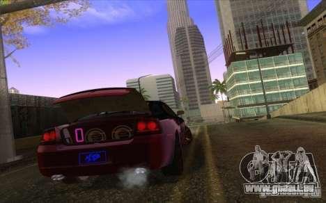 Dodge Charger SRT 8 pour GTA San Andreas vue intérieure