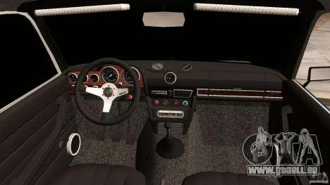 VAZ 2106 Tuning v2.0 pour une vue GTA Vice City de l'intérieur