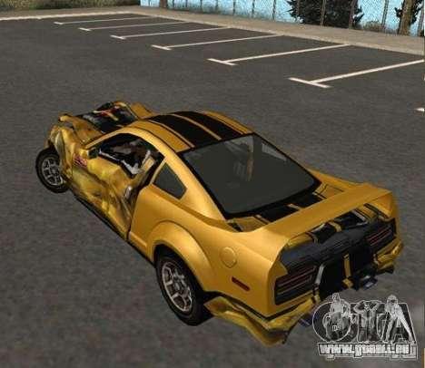 Road King from FlatOut 2 pour GTA San Andreas vue de droite