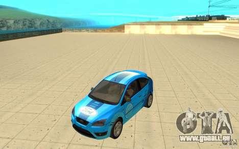 Ford Focus-Grip für GTA San Andreas Innenansicht