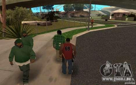 Skins Grove Street für GTA San Andreas zweiten Screenshot