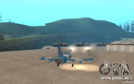 L-39 Albatross für GTA San Andreas obere Ansicht