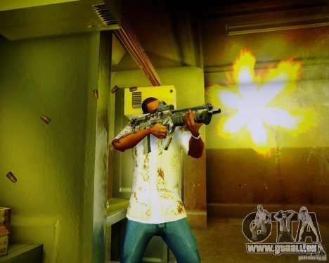 Tavor Tar-21 Digital für GTA San Andreas her Screenshot