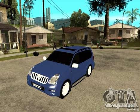 2009 toyota land cruiser prado pour GTA San Andreas