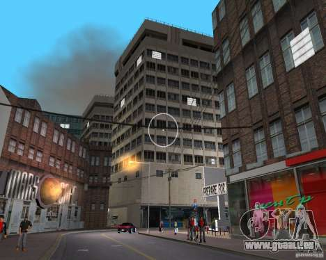 New Downtown: Shops and Buildings für GTA Vice City