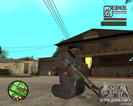 Applications de l'ARC pour GTA San Andreas deuxième écran