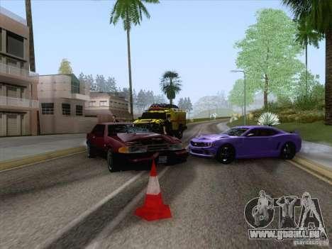 Unfall auf der Straße für GTA San Andreas her Screenshot