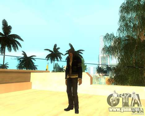Alex Mercer ORIGINAL für GTA San Andreas