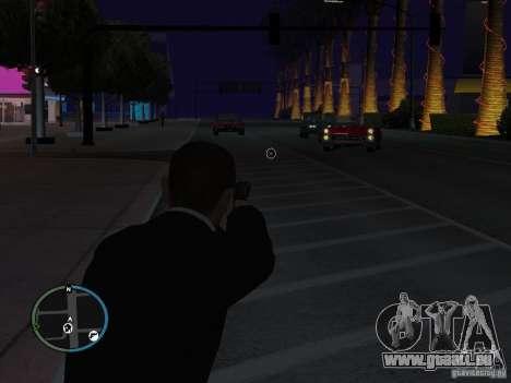 Objectif étroit pour GTA San Andreas deuxième écran