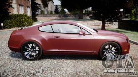 Bentley Continental SS v2.1 für GTA 4 linke Ansicht