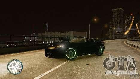 Green Neon Banshee für GTA 4 linke Ansicht