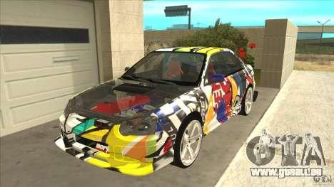 Subaru Impreza 2005 Mission Edition für GTA San Andreas