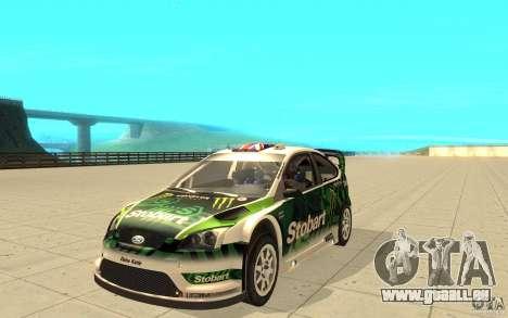 Ford Focus RS WRC 08 für GTA San Andreas Räder