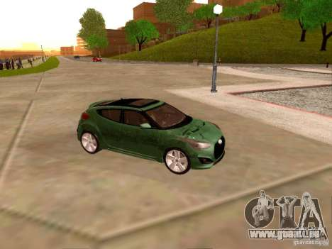 Hyundai Veloster Turbo v1.0 pour GTA San Andreas vue intérieure
