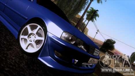 Toyota Chaser Tourer für GTA San Andreas zurück linke Ansicht