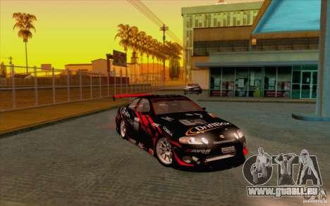 Toyota Soarer (JZZ30) pour GTA San Andreas vue arrière