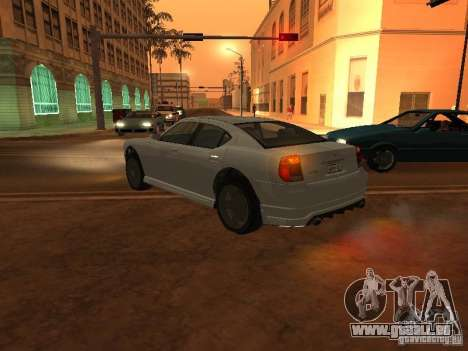 GTA 4 TBoGT von Buffalo für GTA San Andreas linke Ansicht