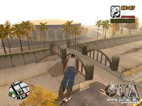 FLY Men-CJ wird steiler als Superman sein. für GTA San Andreas fünften Screenshot