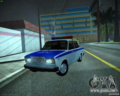 VAZ 2107 Polizei für GTA San Andreas