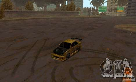NFS Most Wanted - Paradise pour GTA San Andreas dixième écran