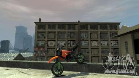 Stunt Supermotard Sanchez für GTA 4 Seitenansicht