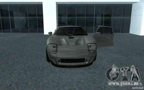 Ford GT 40 pour GTA San Andreas sur la vue arrière gauche