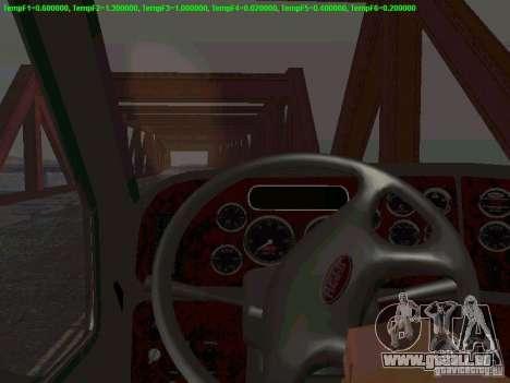 Peterbilt 387 für GTA San Andreas Seitenansicht