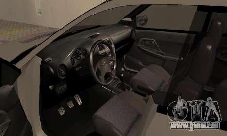 Subaru Impreza WRX Wagon für GTA San Andreas Rückansicht