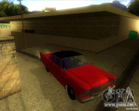 Plymouth Savoy 1957 pour GTA San Andreas vue arrière