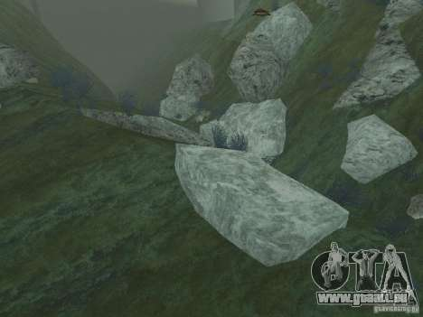 Textures HD des fonds marins pour GTA San Andreas