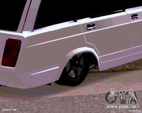 VAZ 2104 für GTA San Andreas Innenansicht