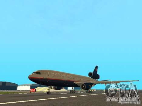 McDonell Douglas DC10 United Airlines für GTA San Andreas
