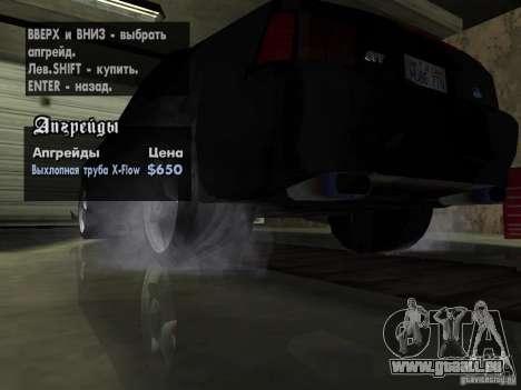 Ford Mustang Cobra R Tuneable für GTA San Andreas Innen