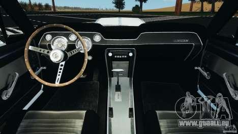 Shelby GT 500 Eleanor v2.0 für GTA 4 Rückansicht