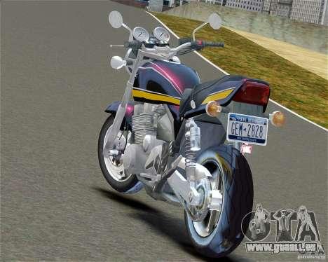 Kawasaki Zephyr für GTA 4 linke Ansicht