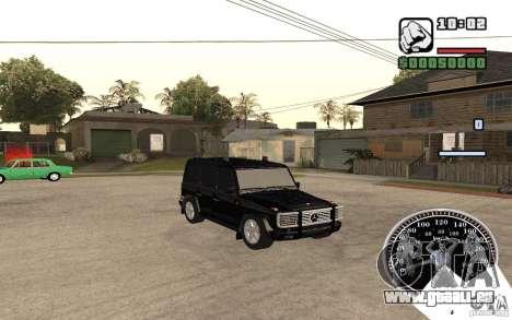 Mercedes-Benz G500 FBI pour GTA San Andreas