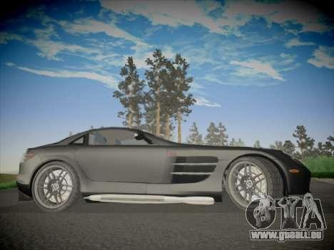 Mercedes-Benz SLR 722 Custom Edition pour GTA San Andreas vue arrière