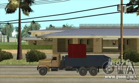 KrAZ-257 pour GTA San Andreas laissé vue