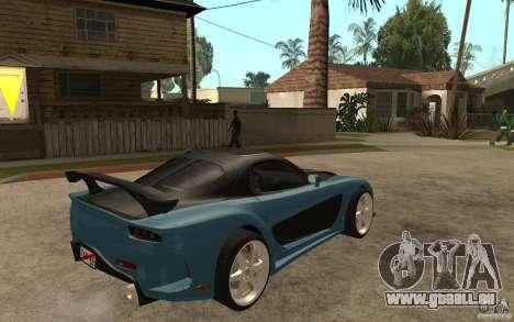 Mazda RX 7 VeilSide für GTA San Andreas rechten Ansicht