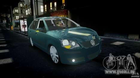 Volkswagen Polo 1998 pour GTA 4 est une vue de l'intérieur