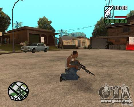 SR 25 pour GTA San Andreas deuxième écran