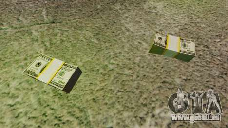 Argent réel américain pour GTA 4 secondes d'écran