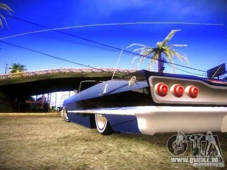 Chevrolet Impala Hardtop 1963 für GTA San Andreas rechten Ansicht