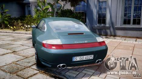 Porsche 911 (996) Carrera 4S für GTA 4 hinten links Ansicht