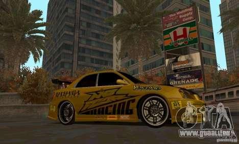 NFS Most Wanted - Paradise pour GTA San Andreas huitième écran
