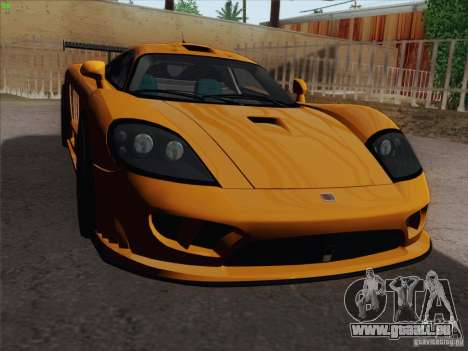 Saleen S7 Twin Turbo Competition Custom für GTA San Andreas Seitenansicht