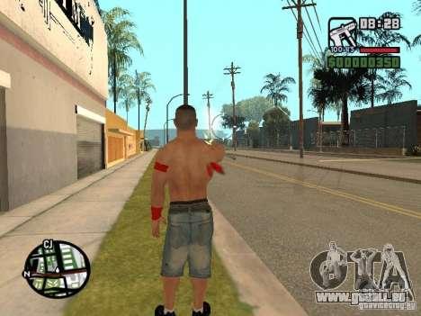 John Cena pour GTA San Andreas cinquième écran
